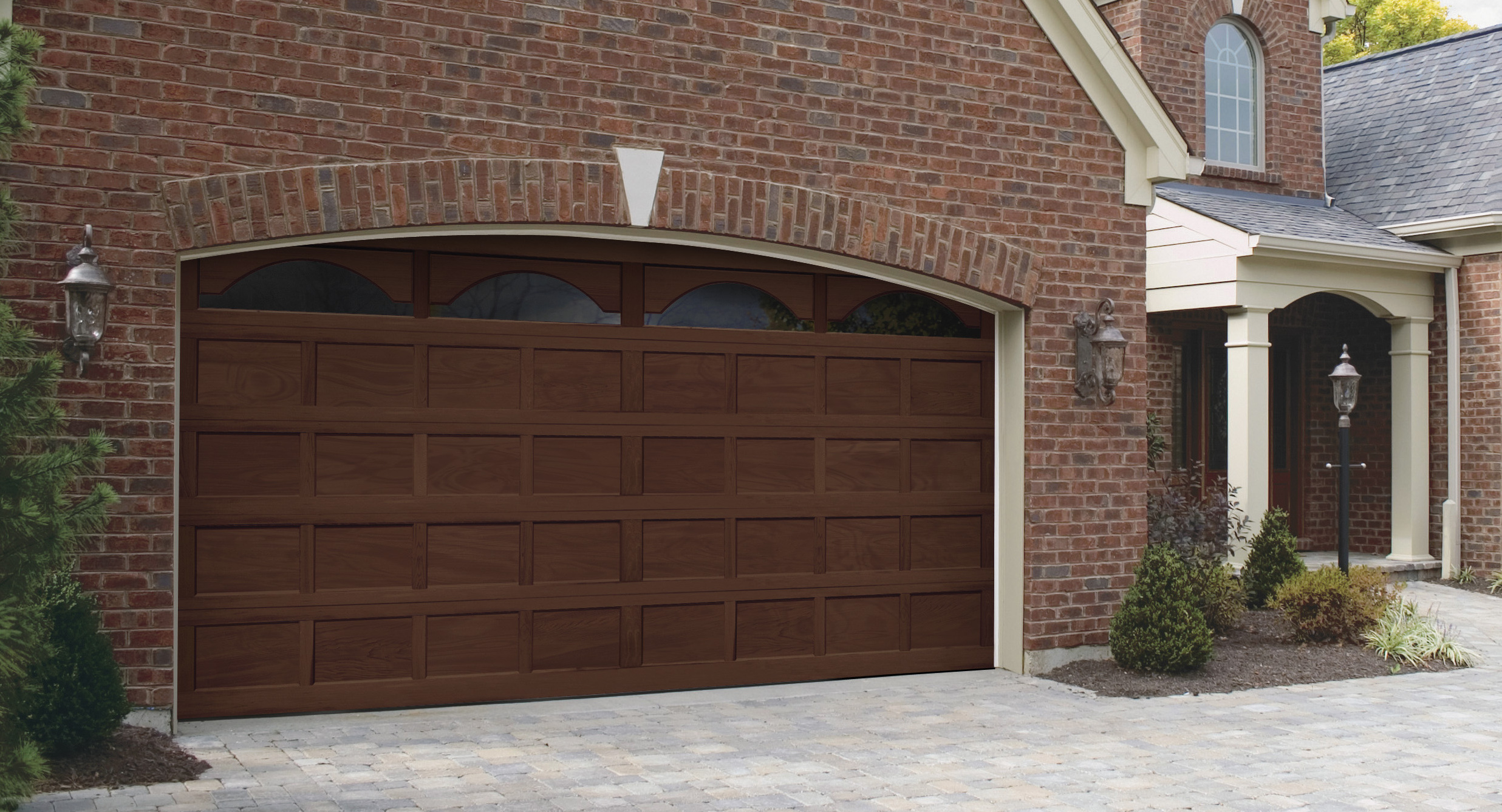 1337 #3E2C24 Residential Photo Gallery R&S Overhead Door Company image Residential Overhead Garage Doors 36732473