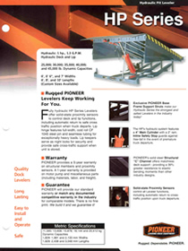 pioneer hp series brochure
